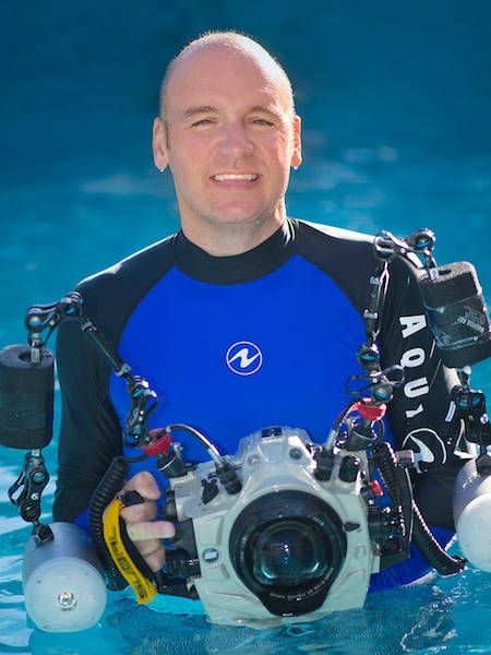 Dr Alex Mustard, world renowned Underwater Photographer and Videographer