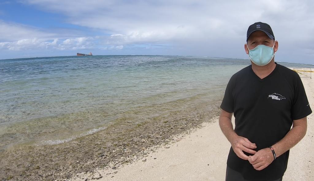 MV Wakashio Crash site, Mauritius